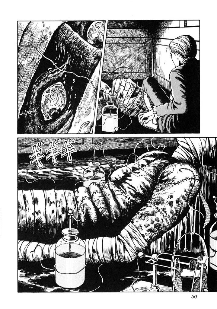 Junji Ito - Frankenstein, Page 050