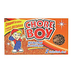 Spic And Span Chore Boy Ultimate Pure Copper Scrubbers, 2 Ea