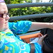 Disneyland day 2 - Autopia driver