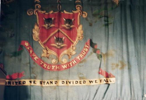 paisely weavers union flag