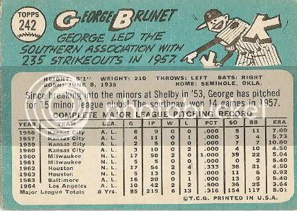 #242 George Brunet (back)