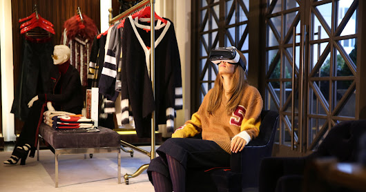 Tommy Hilfiger Introduces Virtual Reality Headsets for Shoppers - The New York Times