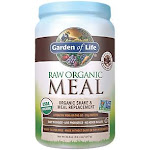 Garden of Life - Raw Meal Organic Shake & Meal Replacement - Chocolate Cacao (28 Servings) - Plant Based Blends