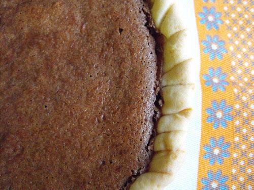 Tarte cheesecake de chocolate