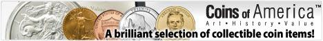Coins of America collectible coins