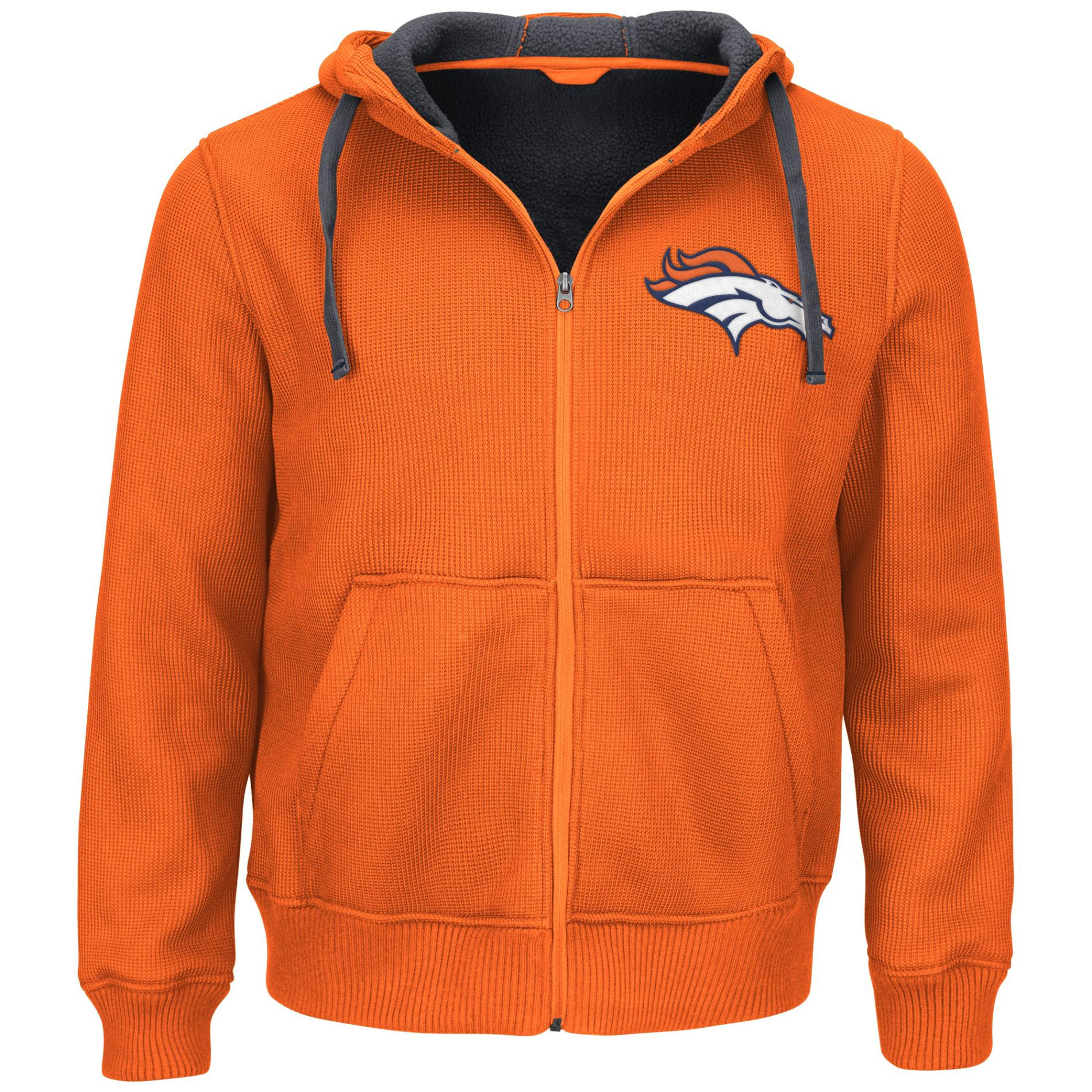 NFL Mens Thermal Hoodie Jacket  Denver Broncos