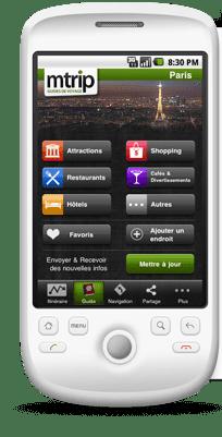 Guías de Viaje para Android Guias de viaje Mtrip con funcionamiento Offline.