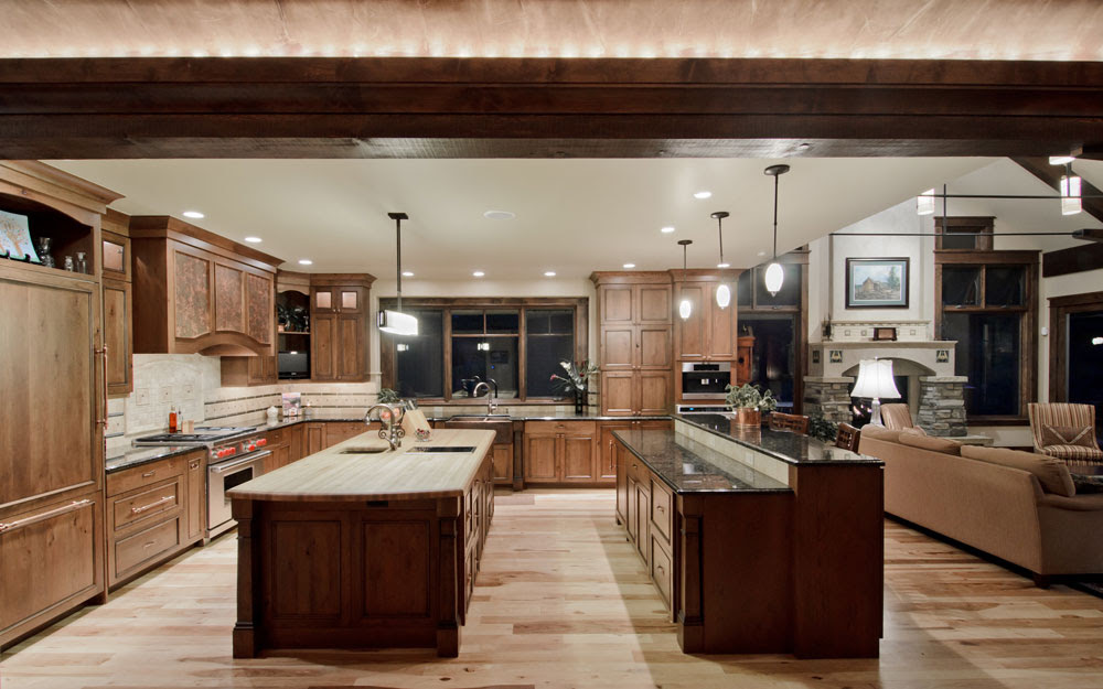 Creating An Open Plan Kitchen Design - Tips On Doing It Properly