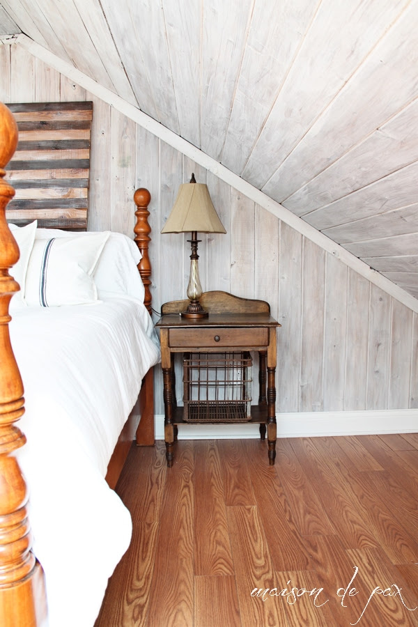 attic right bedside