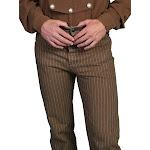 Scully Men's Pants Railhead Stripe Pant Taupe