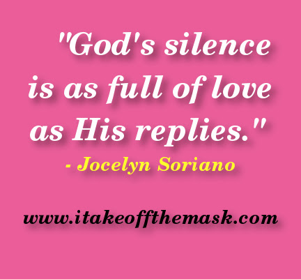 Gods Silence Quotes Poems Prayers And Words Of Wisdom At I