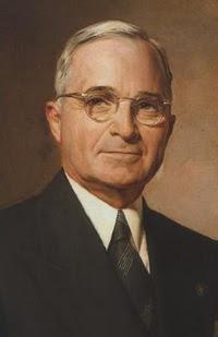 Il presidente degli Stati Uniti Harry S. Truman