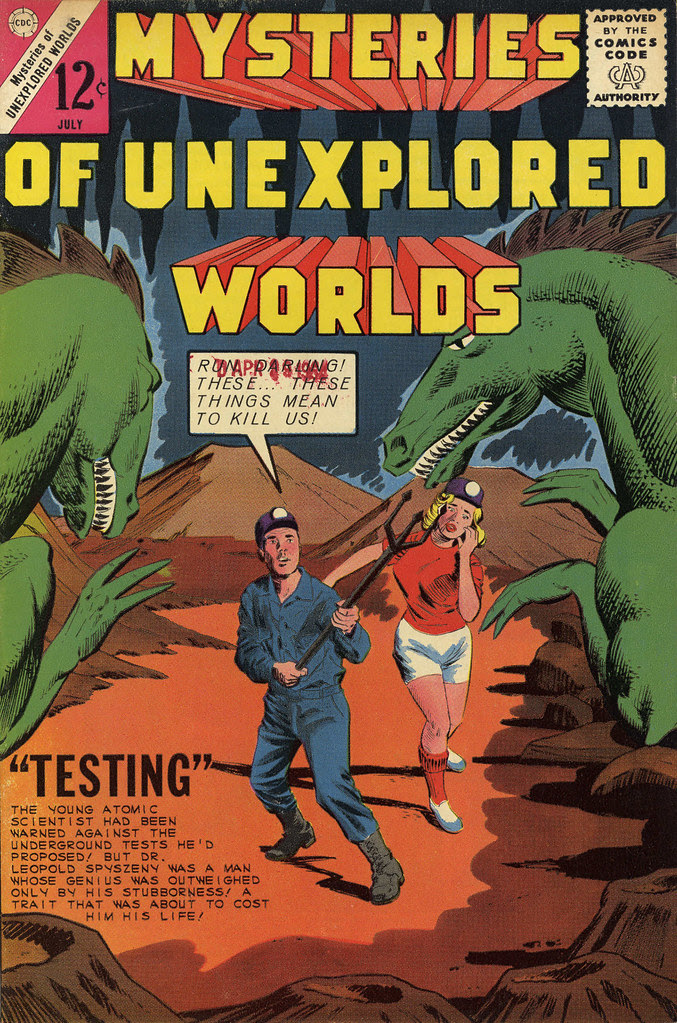 Mysteries of Unexplored Worlds #42 (Charlton, 1963)