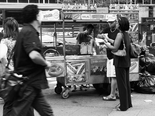 Hot dog kiosk, Midtown