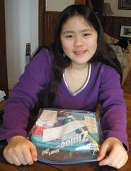 Sophia with Hygiene Kit