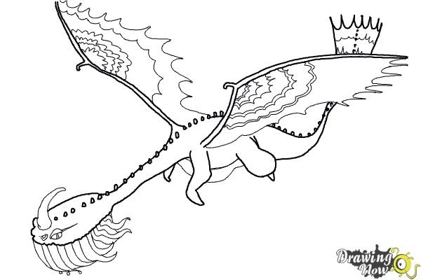 how to train your dragon screaming death coloring pages