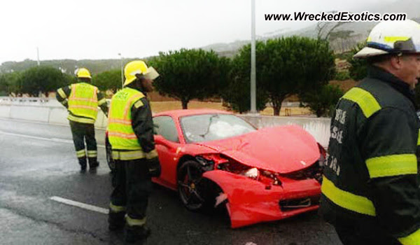 Almost Everything Autobody's Wreck of the Day: Ferrari 458 Italia