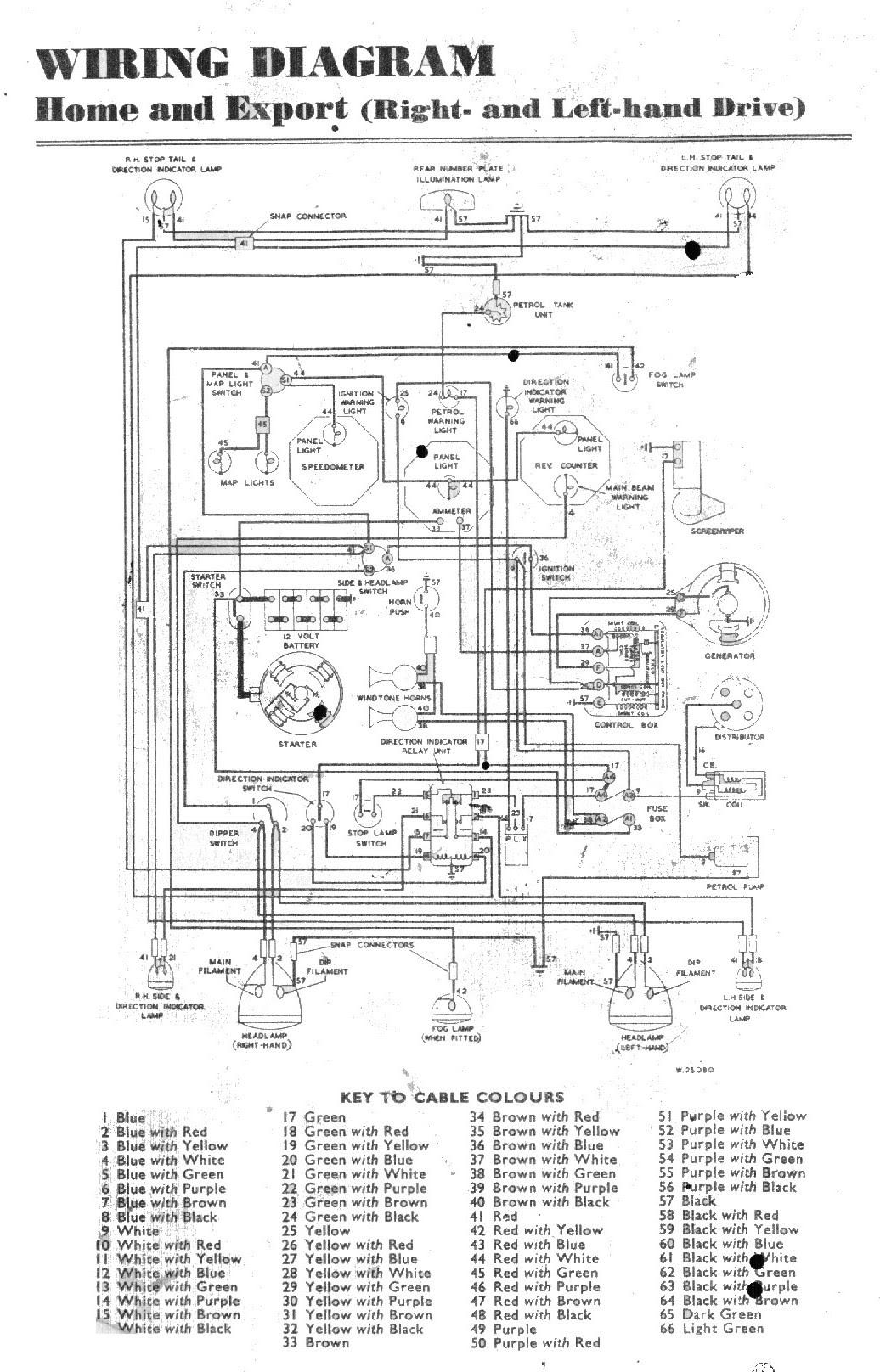 Stromlaufplan Mg 4