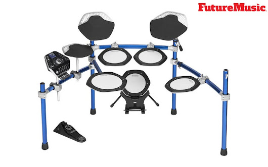 Simmons Premiers SD2000 New Electronic Drum Kit With Mesh Heads | FutureMusic the latest news on future music technology DJ gear producing dance music edm and everything electronic