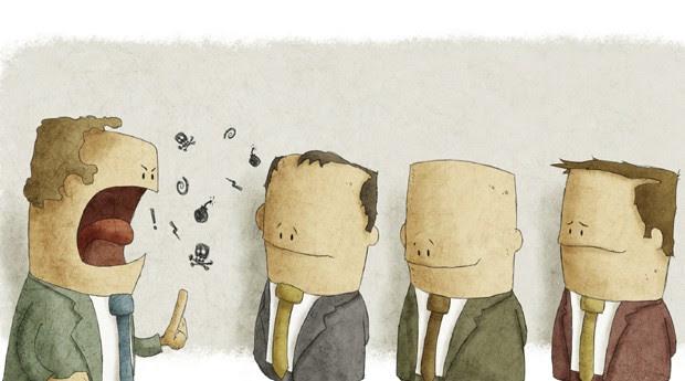 chefe; gestão; briga; conflito; briga (Foto: ThinkStock)