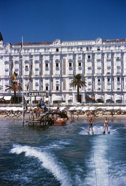 mimbeau:  Carlton Hotel - Cannes - France 1958 Slim Aarons