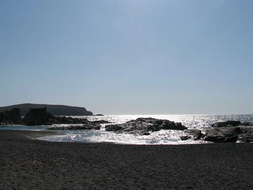 Faneromeni beach, Sigri