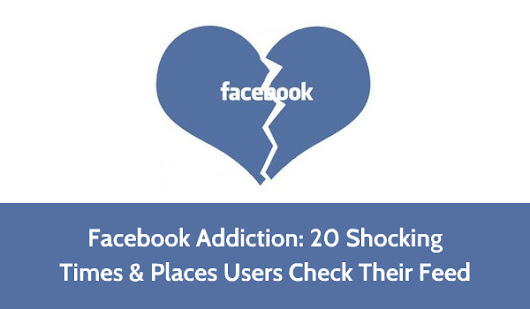 Facebook Addiction: 20 Shocking Times & Places Users Check Their Feed
