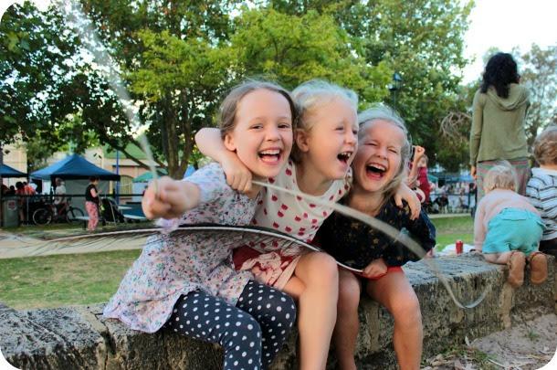 Sophie, Eva and Greta