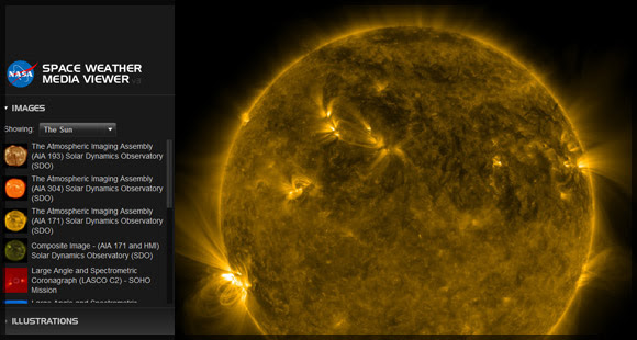 Space Weather Media Viewer Version 4