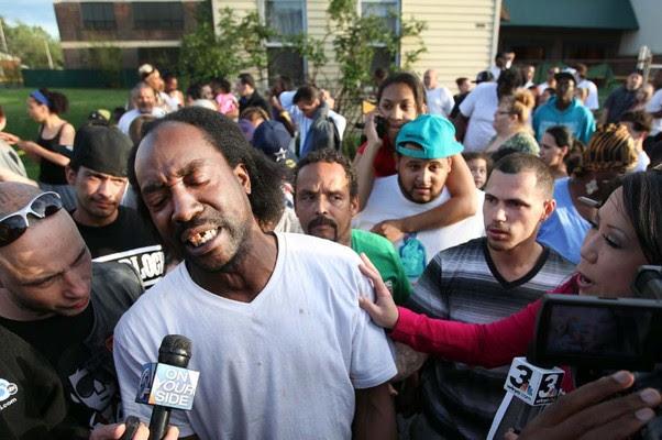 Charles Ramsey, vizinho que ajudou a libertar três mulhers sequestradas em Cleveland, EUA (Foto: The Plain Dealer, Scott Shaw/AP)
