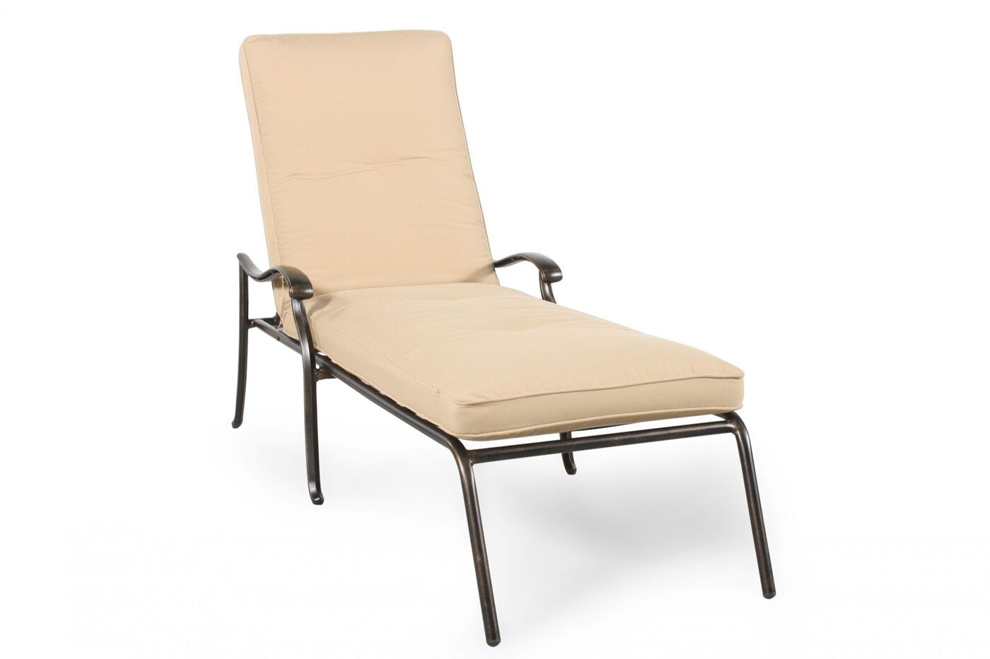 Agio Heritage Select Patio Chaise Lounge | Mathis Brothers ...