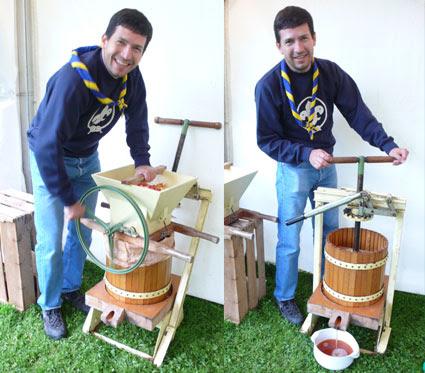 Tono pressing cider