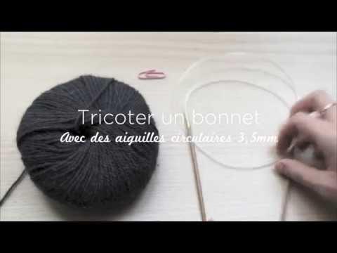 Tricoter un bonnet avec des aiguilles circulaires c est super ! - HOOKLOOK.  Méli-mélo d idées en laine et au crochet. 1f26852403f