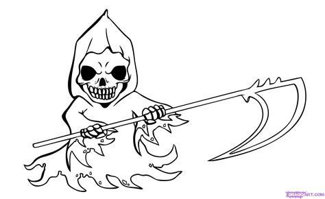 draw chibi grim reaper step  step chibis draw