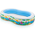 Intex 8.5ft x 5.25ft x 18in Swim Center Paradise Seaside Inflatable Kiddie Pool by VM Express
