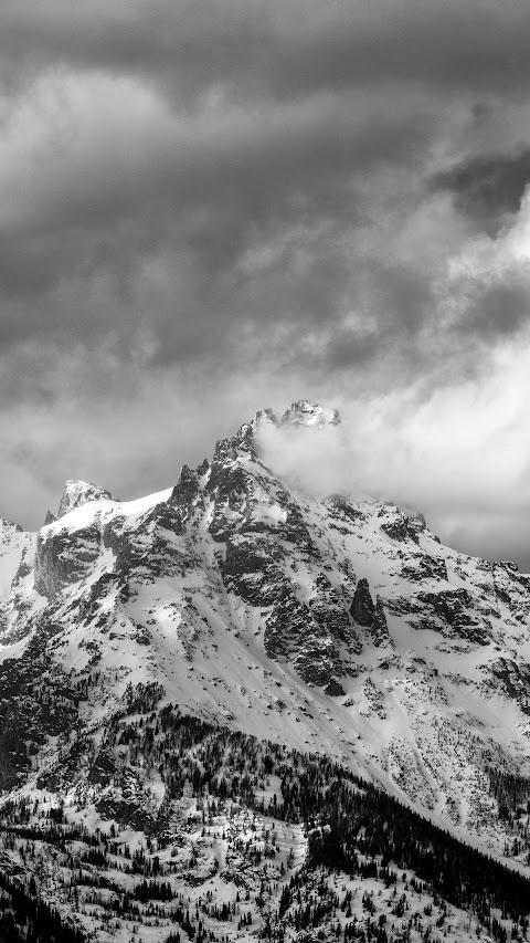 أجمل خلفية منظر طبيعي في العالم بدقة عالية في الجبال والثلوج