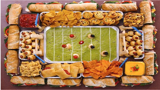 TOP 10 SUPER BOWL FOODS OF 2017 - Erik Litmanovich