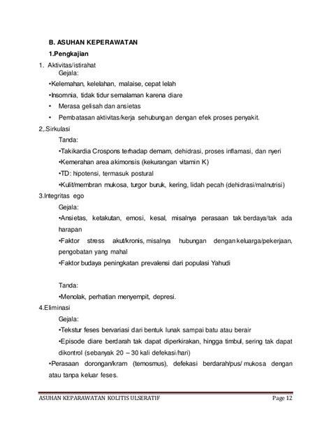 Askep Kolitis Ulseratif