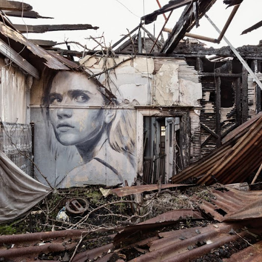 Rone: Why Australia's most successful street artist only paints women