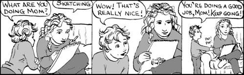 Home Spun comic strip #200