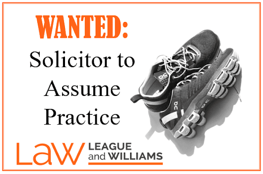 Solicitor Wanted - are you ready to hit the ground running?
