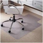 """ES Robbins Task Series AnchorBar Carpet Chair Mat, Standard Lip, 36""""W"""