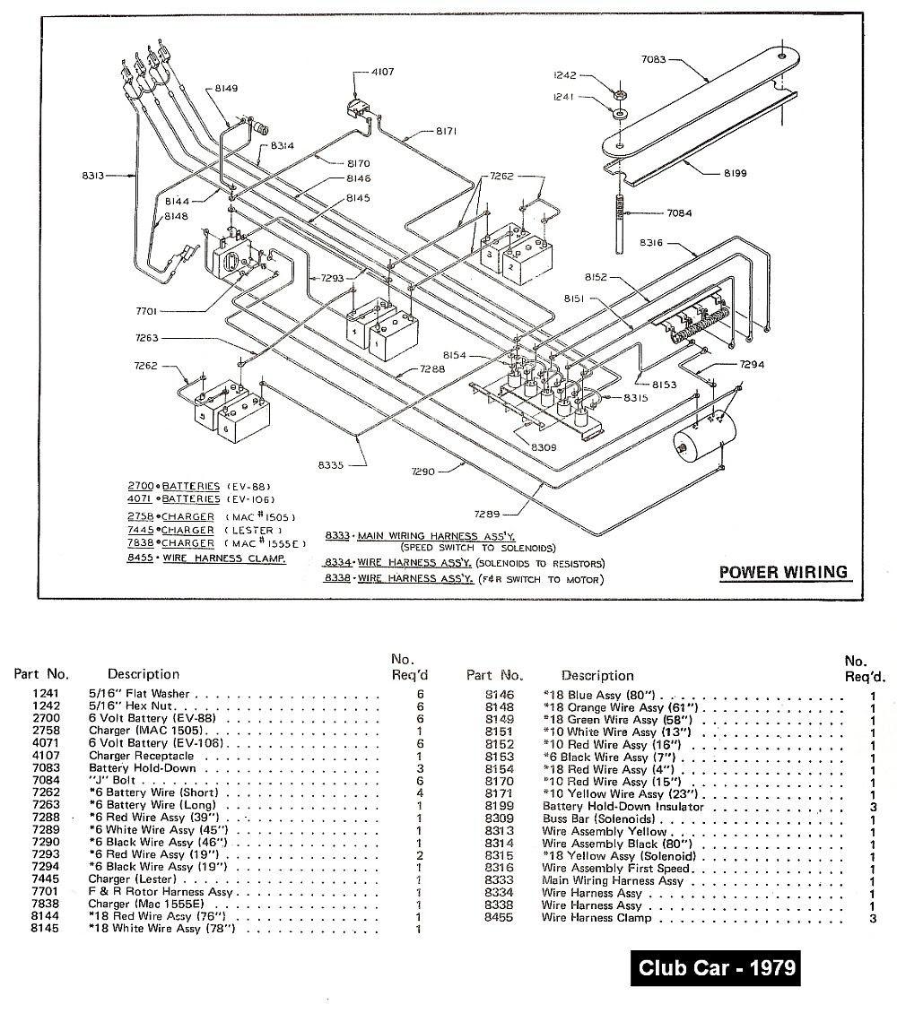 Yamaha 48 Volt Club Car Wiring Diagram