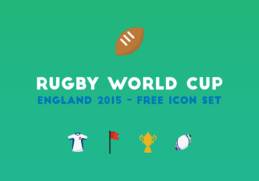 Rugby World Cup: Free Icon Set | Plug and Play