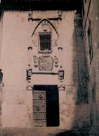 Posada de la Hermandad de Toledo en 1858. Fotografía de Gustave de Beaucorps. Fondo Fotográfico de la Universidad de Navarra