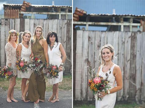 New Zealand 70s Inspired Bohemian Wedding: Kate   Nasa