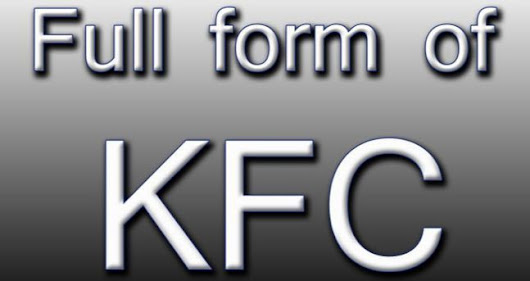 KFC Full Form | Windows