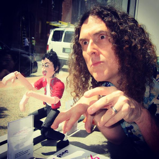 Weird Al Yankovic Marionette to fund the Youth Art Connection