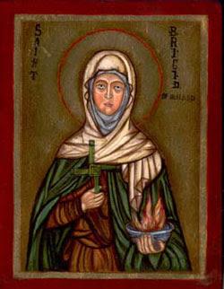 Image of St. Brigid of Ireland