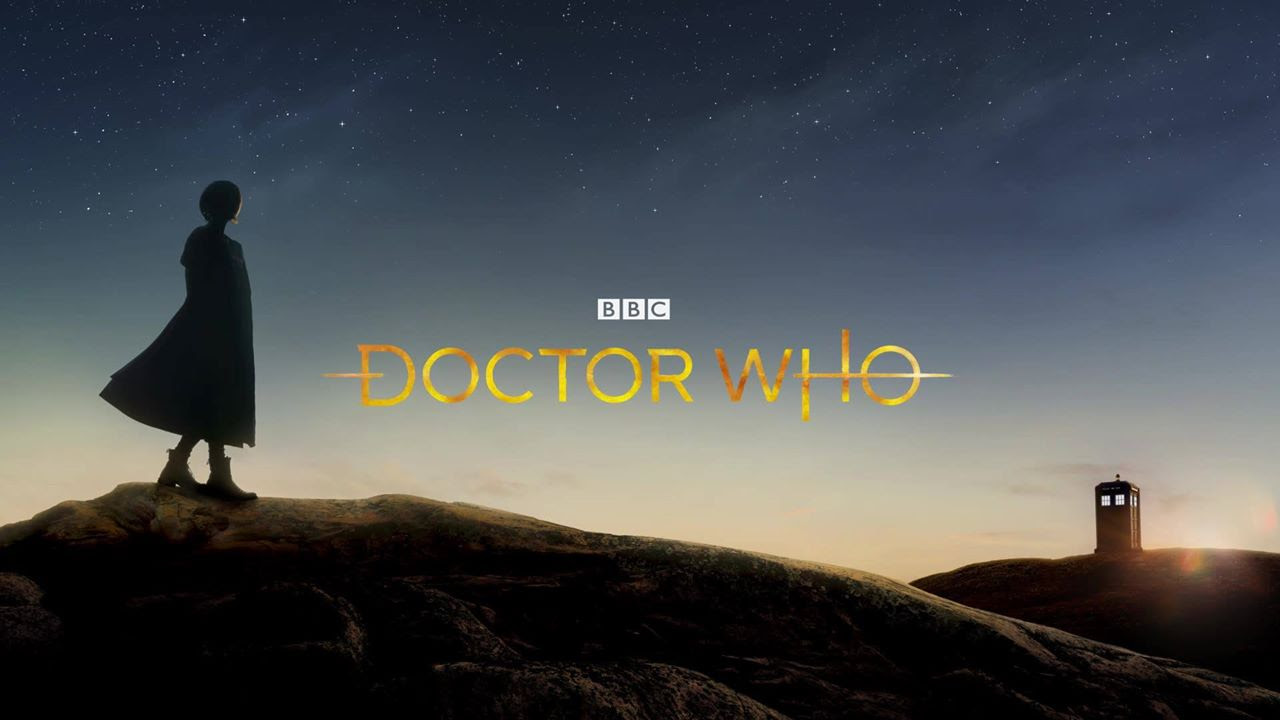The new Doctor Who logo sure says 'Doctor Who' screenshot